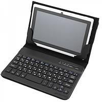 Bluetooth клавиатура + чехол-книжка для планшетов 7 дюймов, чехол с клавиатурой для планшета