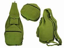 Рюкзак складной зеленый