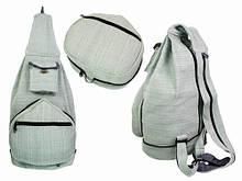 Рюкзак светло-серый складной
