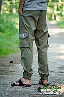 Оливковые мужские штаны карго Wild РАЗМЕР ХС-С