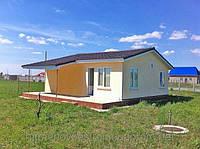Строительство дач в Крыму по канадской технологии.48 кв.м.