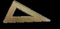 Треугольник деревянный 30/60/220мм.  Мицар