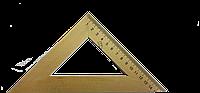 Треугольник деревянный 45%*160мм.  Мицар