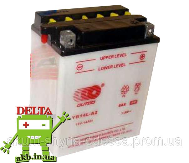 Мото аккумулятор Outdo Moto 6СТ-14 (YB14L-A2)
