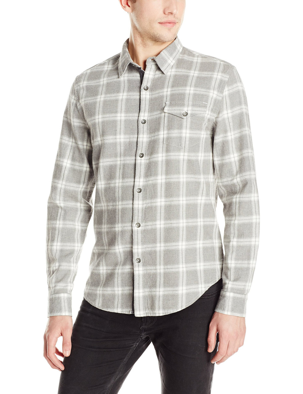 Рубашка DKNY, XL, Heather Grey, M4570021