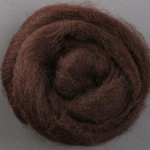 Шерсть для валяния Корридейл Ashford (30 микрон), 020 цвет