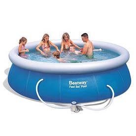 Надувной семейный бассейн BestWay 57263