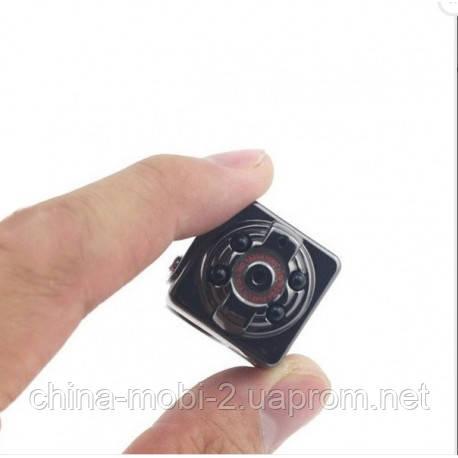 Мини камера-регистратор dv dvr SQ8 с ИК ночной подсветкой, дата, время