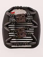 Заколка для волос African butterfly Dupla 004 черная тонкая