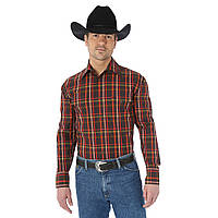 Рубашка Wrangler George Strait, S, Chestnut/Red, MGSE179, фото 1