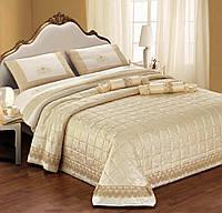 """Двуспальный комплект постельного белья со стеганным покрывалом DIBENEDETTO """"AMANDA"""""""