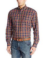 Рубашка Wrangler 20X, M, Navy/Red/Gold, MJ2594M, фото 1