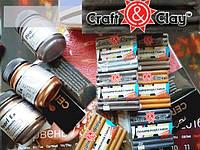 Набор из 6 цветов металлик глины Craft&Clay (6 шт), фото 1