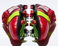 Неожиданное цветовое решение : вишневый цвет Adidas Nitrocharge 1.0