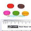 Бирки деревянные HAND MADE 1, 19х12 мм, 5 шт, микс
