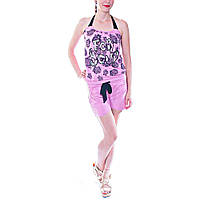 Комбез женский летний розовый
