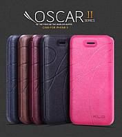 Кожаный чехол (книжка) KLD Oscar 2 Series для iPhone 5\5S\5C