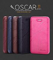 Кожаный чехол (книжка) KLD Oscar 2 Series для iPhone 4\4S