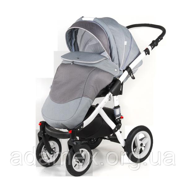 Детская универсальная коляска 2 в 1 Adamex Aspena прогулочный