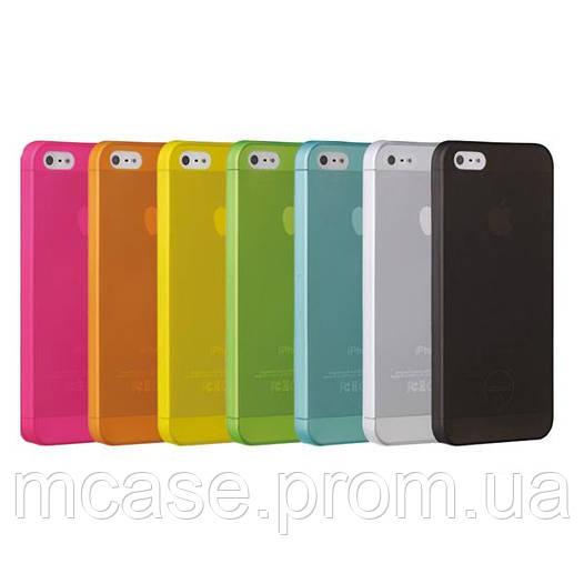 Ультратонкий пластиковый чехол для iPhone 5, 5s