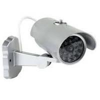 Муляж камеры наблюдение PT-1900. Выглядит как самая настоящая камера, встроен датчик движения