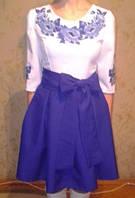 Вышитое женское платье, фото 1