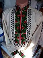 Мужская вышиванка (лён)
