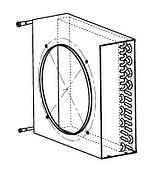 Lloyd (ллойд) Конденсатор воздушного охлаждения Lloyd SPR 6 (Heatcraft Luvata)