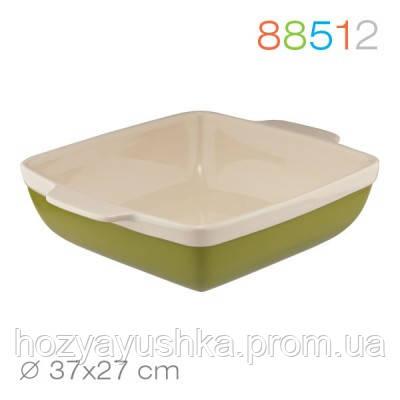 Прямоугольная форма для выпечки/запекания granchio natura oliva green ceramica 88512