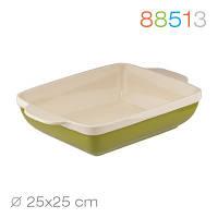 Квадратная форма для выпечки/запекания granchio natura oliva green ceramica 88513