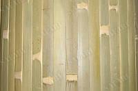 Бамбуковые обои (бледно зелёные нелак.) ширина планки 17 высота2,5м;