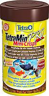 Tetra MIN PRO mini Crips 100ml - основной корм для аквариумных рыбок