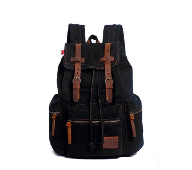 Рюкзак Augur | черный. Вид спереди.