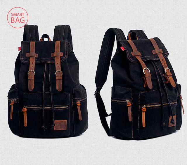 Рюкзак Augur | черный. Вид сбоку.