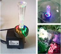 Фонтан  Грибок с LED подсветкой RGB 10W