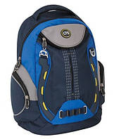 """Молодежный ортопедический рюкзак на все случаи жизни CFS 17"""", """"Space"""" 820 CF85468 синий"""