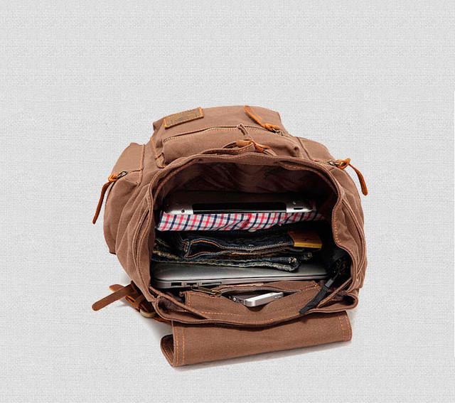 Рюкзак Augur | внутреннее устройство