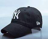Бейсболка New York. Кепка NY. Качественные бейсболки. Мужские бейсболки, фото 2