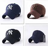 Бейсболка New York. Кепка NY. Качественные бейсболки. Мужские бейсболки, фото 10