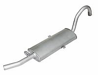 Глушитель основной ВАЗ 2104 катаный (инжектор)/