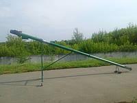 """Шнековый погрузчик зерна """"Премиум"""" ТГ115/3/0,5 с бункером (длина 3,5м, диаметр 115мм,3 фазы,1,5 кВт)"""