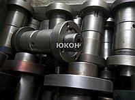 Вал-эксцентрик ролика ОГМ 0,8 с крышками. Пресс гранулятор ОГМ-0,8