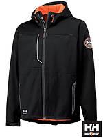 Куртка утепленная микрофлисом рабочая и капюшоном с резинкой (рабочая одежда) HH-LEON B
