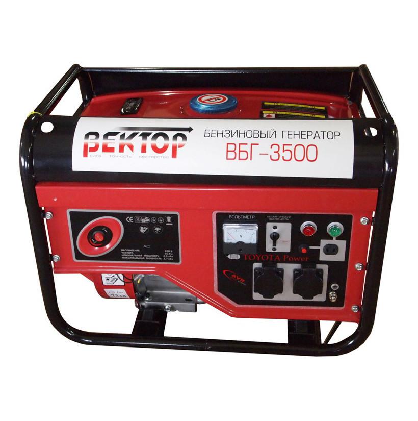 Генератор бензиновый Вектор ВБГ-3500