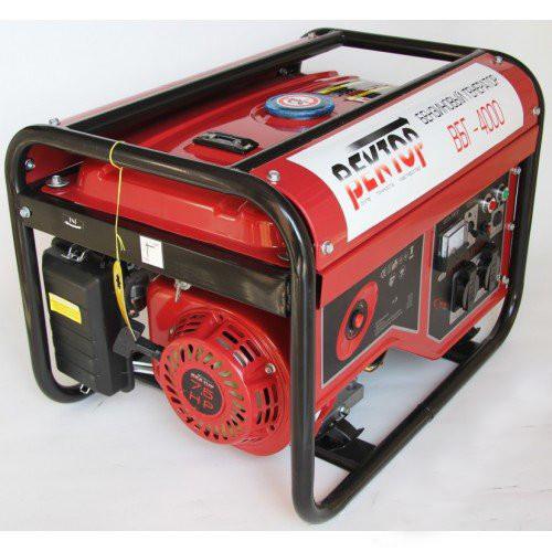 Генератор бензиновый Вектор ВБГ-4000