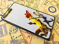 TPU чехол для Huawei Ascend G6-U10 Джуди и Ник