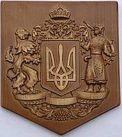 """""""герб украины"""" картина из дерева"""