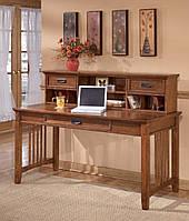Стол письменный компьютерный из массива дерева 072