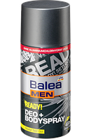 Balea MEN ready! Deo + Bodyspray - Готов! Спрей-дезодорант для тела 150 мл