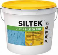 Штукатурка силиконовая декоративная короед 2,0 мм, 25 кг Siltek Decor Silicon Pro, база DA